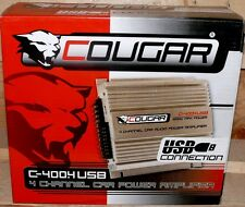 Cougar 4 Kanal CAR HIFI Verstärker AUTO Endstufe USB MP3 PLAYER  1200W AMPLIFIER