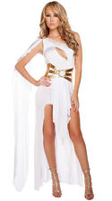 Greek Princess Goddess costume Adult Roman Egyptian Halloween Fancy Dress outift