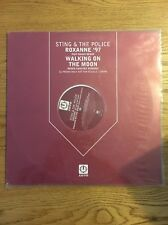 "Sting The Police Maxi Vinyl Uk Promo 12"" Roxanne Walking On The Moon Remixes"