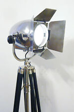 VINTAGE FILM LAMP CINEMA ANTIQUE ART DECO SILVER JIELDE BAUHAUS THEATRE LIGHT