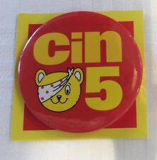 Brand New Vintage Children In Need Charity Pudsey Bear Pin Badge