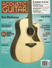 ACOUSTIC GUITAR January 2012 PAT METHENY The Beatles And I Love Her TAB Lessons
