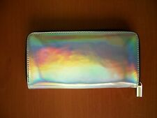 Hologram Women's Metallic Glitter - Clutch Handbag Purse Wallet