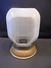 Vintage Bath Wall Sconce Light Fixture  Frosted and Clear Pressed Galss Globe