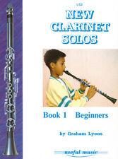 New C Clarinet Solos Book 1 Lyons C Clarinet, Clarineo Lyons