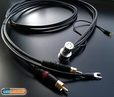 Van Damme Tonearm cable -Twisted pair - Ultra Pure Silver plated OFC copper