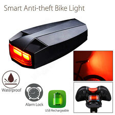 ANTUSI Smart Anti-theft Cycling 3in1 COB Light USB Charging Waterproof Security