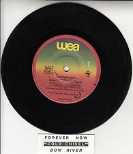 """COLD CHISEL Forever Now & Bow River 7"""" 45 rpm record + juke box title strip"""
