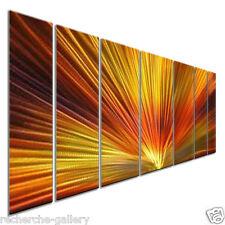 Metal Wall Art Sculpture by Ash Carl Abstract Painting Modern Home Décor