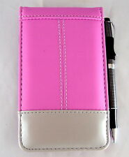 Jotter Calculator Note Pad w/Pen, Pink/Silver PO538, For School, Office, Travel
