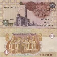 P50j  Ägypten /  Egypt  1 Pound  2006  UNC