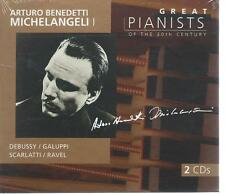 DOUBLE(2) CD GREAT PIANISTS OF THE 20 th CENTURY ARTURO B MICHELANGELI NEW SEAL