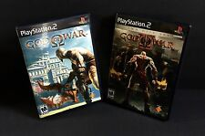 GOD OF WAR AND GOD OF WAR 2  PlayStation2
