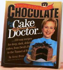 CHOCOLATE from the CAKE MIX DOCTOR by Anne BYRN 2001 1st Printing COOKBOOK $15.