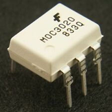 MOC3020M Triac Opto-Isolator IC (Pack of 2) MOC3020