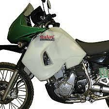 Kawasaki KLR650 KLR 650 Safari 32L Clear Long Range Fuel Tank Petrol Gas