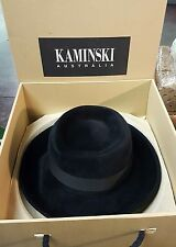 Helen Kaminski Stylish Hat GINA BLACK Made in Australia