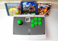 Dreamcast arcade stick and games