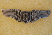 US USA USAF Air Force Glider Pilot Wings Military Hat Lapel Pin