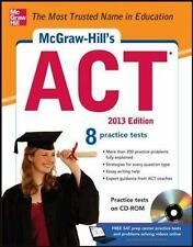 McGraw-Hill's ACT with CD-ROM, 2013 Edition (McGraw-Hill's ACT (W/CD)), Dulan, S