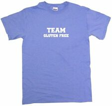 Team Gluten Free Kids Tee Shirt Boys Girls Unisex 2T-XL