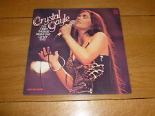 CRYSTAL GAYLE - I've Cried The Blue Right Out Of My Eyes - 1978 issue UK LP