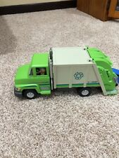 Playmobil Rubbish Recycling GREEN GARBAGE TRUCK Lorry Set 5938