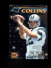 1995 Action Packed KERRY COLLINS Carolina Panthers Monday Night Football Card