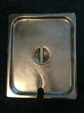 STAINLESS STEEL 1/2 GASTRONORM LID FOR 1/2 GASTRO PAN