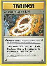 POKEMON EVOLUTIONS CARD: CHARIZARD SPIRIT LINK - 75/108