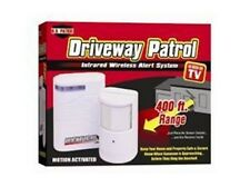 Driveway Patrol Infrared Wireless Alert System Motion Sensor Alarm Garage