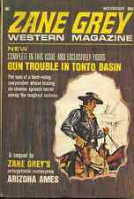 ZANE GREY WESTERN MAGAZINE November 1969 - NOEL LOOMIS, BILL PRONZINI, ZANE GREY
