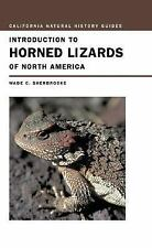 Introduction to Horned Lizards of North America by Sherbrooke, Wade C.