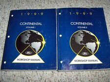 1999 Lincoln Continental Factory Workshop Shop Service Repair Manual 4.6L V8