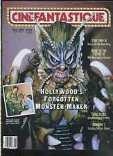 Cinefantastique May 1990 Total Recall Star Trek Robocop 2   MBX85