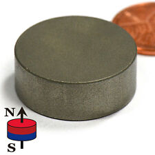 "SmCo Magnets Dia 1X3/8"" Samarium Cobalt Magnets 572F Temperature 1 PC"