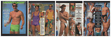 UNDERGEAR SUMMER 1993 SWIMWEAR SPECIAL BIG ISSUE HTF GQ HUNKS BLONDS SPEEDOS UND