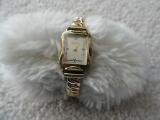 Vintage Swiss Made Zentra Wind Up Ladies Watch with a Stretch Band