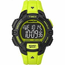 "Timex TW5M02500, Men's ""Ironman"" Triathlon 30 Lap Watch, Indiglo, TW5M025009J"