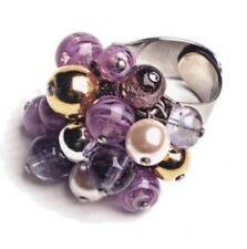 Antica Murrina India Divinity-- Murano Glass Ring