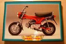 HONDA DAX 50 MONKEY BIKE CLASSIC MOTORCYCLE MINI BIKE PICTURE 1999 PRINT 1990'S