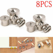 8 pcs Dowel Drill Centre Tenon Points Pin Wood 6mm 8mm 10mm 12mm Creative New