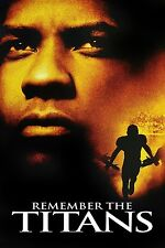 "Remember the Titans Movie Silk Fabric Poster 11""x17"" Denzel Washington"