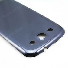 Blue Battery Door Cover Case Back Housing For Samsung Galaxy S3 iii i9300