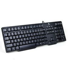 Logitech K100 104-Key PS/2 Classic Keyboard Black - Retail Box - Free shipping -
