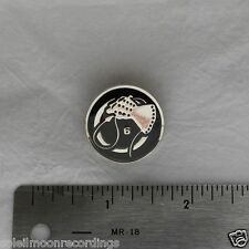 Death In June enamel Whip Hand 6 metal badge pin 11882
