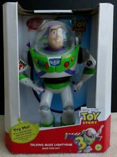 "Disney Toy Story 3 Buzz Lightyear 12"" Talking Toy Doll w Lights & Sound Effects"