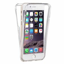 Coque Iphone 4 4S Silicone Gel Integrale Avant Arrière Transparent