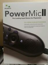 NEW Nuance 0POWM2N PowerMic II Handheld USB Dictation Microphone