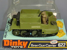 DINKY TOYS  MODEL No 622  BREN GUN CARRIER WITH CREW     MIB